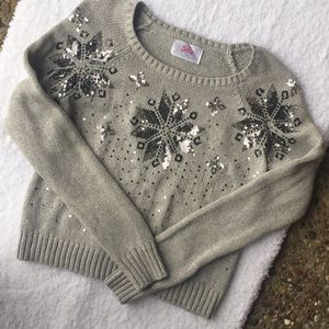 🍁 Justice Girls Sweater W/ Sequins